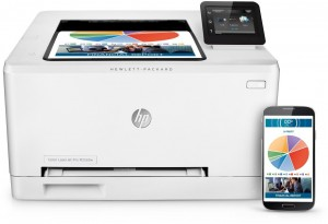 HP Multifunktionsdrucker Color LaserJet Pro 200 M252dw Farblaserdrucker